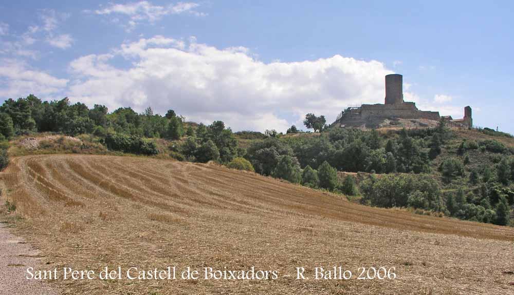 Església de Sant Pere i castell de Boixadors – Sant Pere Sallavinera