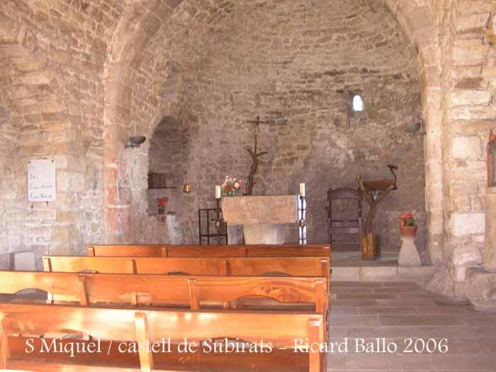 Església de Sant Pere del castell de Subirats – Subirats