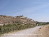 Cervera vista des de l'església de Sant Pere Gros.