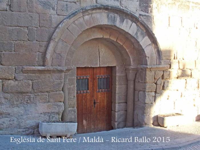 Església de Sant Pere – Maldà