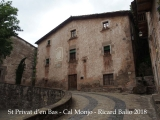 Sant Privat d'en Bas – La Vall d'en Bas - Cal Monjo