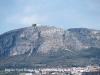 El castell de Montgrí, vist des de Sant Romà de Llabià – Fontanilles