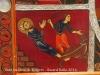 Església de Sant Sadurní de Rotgers - Borredà - Frontal d'altar del segle XIII - Reproducció - Detall. Escenes de la vida i el martiri de sant Sadurní, fundador de I'església de Tolosa de Llenguadoc.