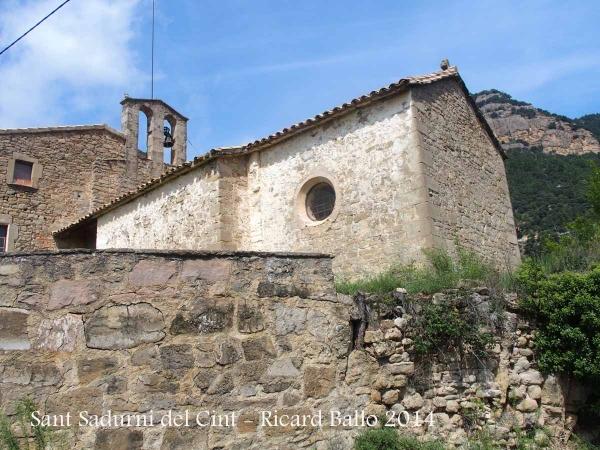 Església de Sant Sadurní del Cint – L'Espunyola