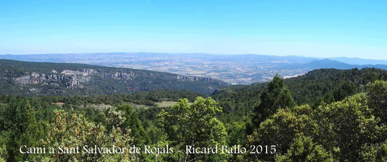 Camí a l'Església de Sant Salvador de Rojals – Montblanc