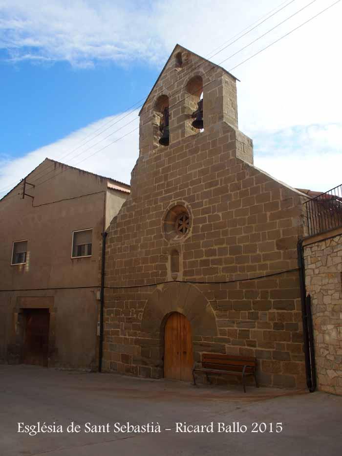 Església de Sant Sebastià –  La Guàrdia d'Urgell (Tornabous)