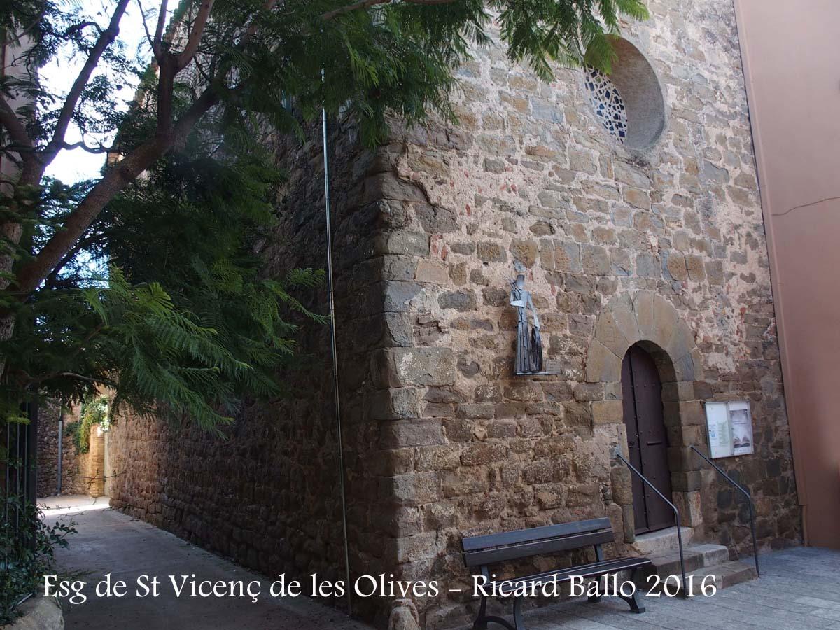 Església de Sant Vicenç de les Olives – Garrigoles
