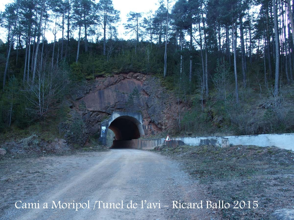 Camí a Sant Vicenç de Moripol - Túnel de l'Avi