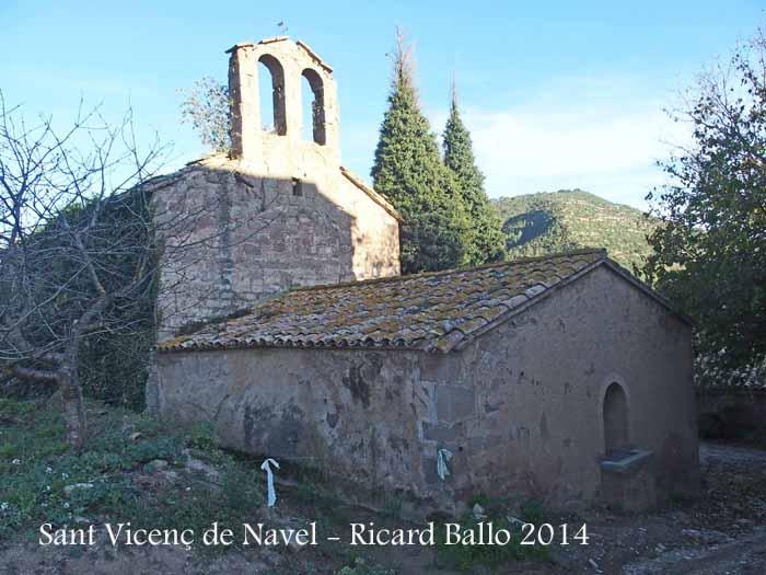 Església de Sant Vicenç de Navel – Viver i Serrateix