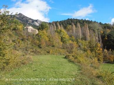 Església de Sant Vicens de Castellar – Castellar del Riu - Darrera part de la ruta