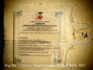 Església de Santa Caterina – Fontcoberta - Informacions a l\'abast dels visitants