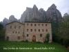 Església de Santa Cecília de Montserrat - Part posterior.