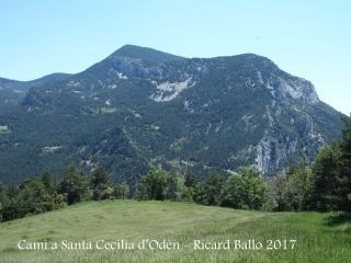 Camí a l'Església de Santa Cecília d'Odèn – Odèn