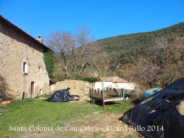 Església de Santa Coloma de Can Cabra – Castellar del Riu