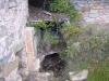 Església de Santa Creu de Palou – Mura - Recinte del cementiri - Restes de nínxols.