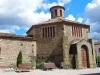 """Església de Santa Eugènia de Berga - En el text de Pat.mapa, es diu \""""Durant la restauració dels anys 1960 s'hi va adossar una capella de planta hexagonal, amb funcions de parròquia (que ara ja no té).\"""" - Pensem que es refereix a aquesta edificació."""