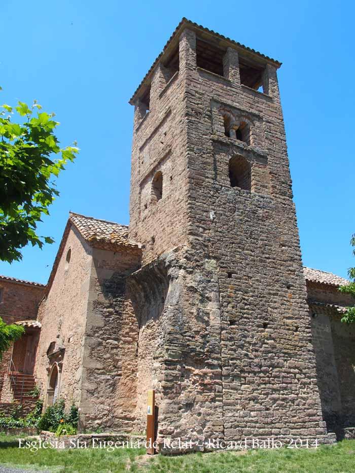 Església de Santa Eugènia de Relat – Avinyó