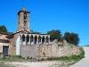 Església de Santa Eulàlia de Timoneda – Lladurs - En primer terme, el cementiri.