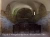 Església de Santa Margarida de Sacot – Santa Pau - Aquesta foto l'hem obtingut posant l'objectiu de la màquina de retratar per entre mig d'un dels petits forats de la porta de ferro de l'entrada ...