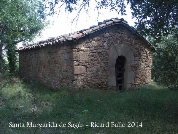 Església de Santa Margarida de Sagàs