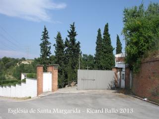 Església de Santa Margarida – Santa Margarida i els Monjos - Cementiri nou