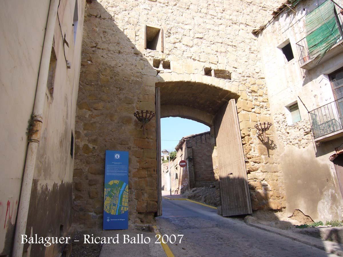 Balaguer - Portal del gel