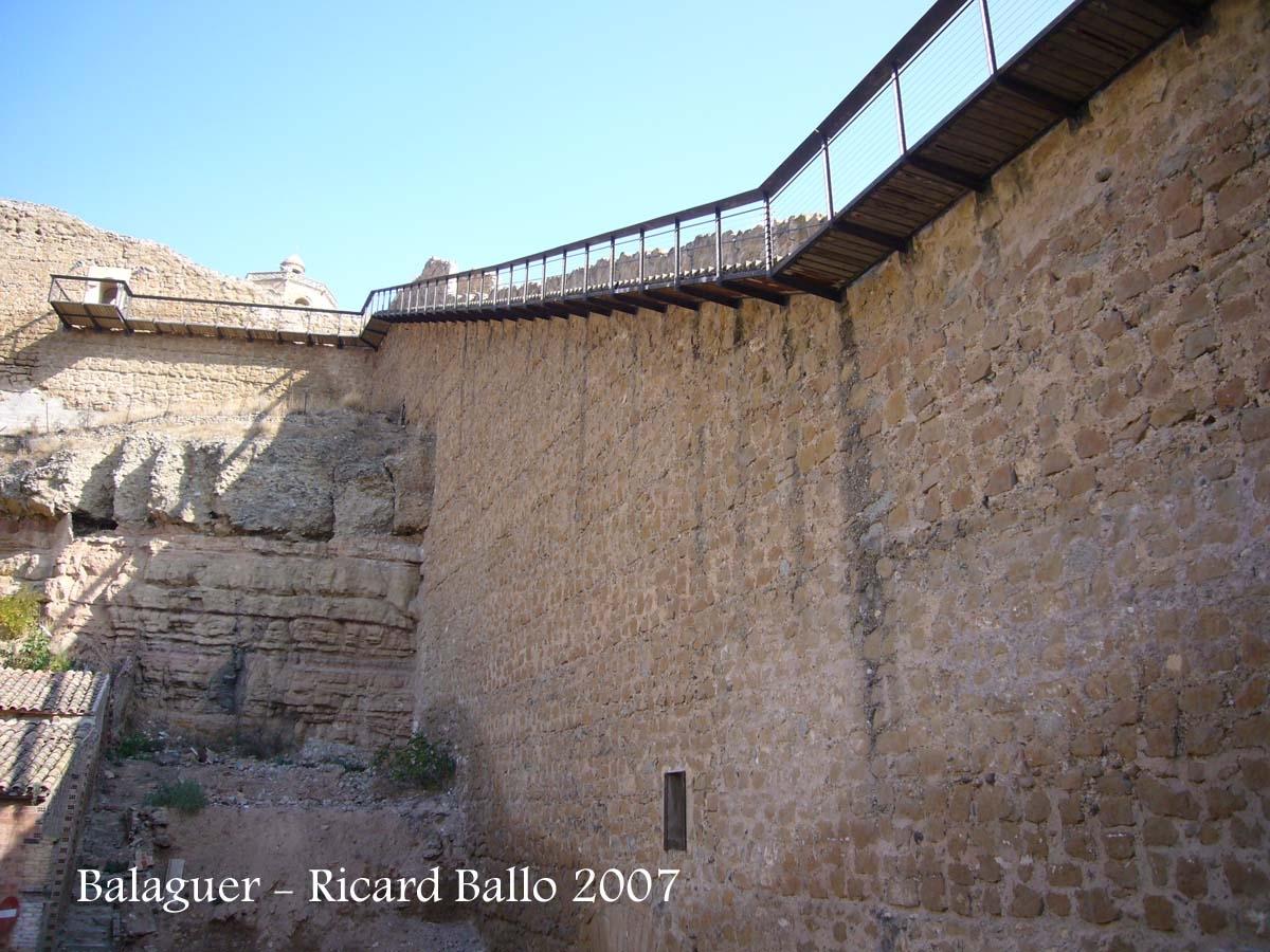 Balaguer - Muralles