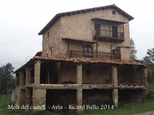Avià - El Molí del castell