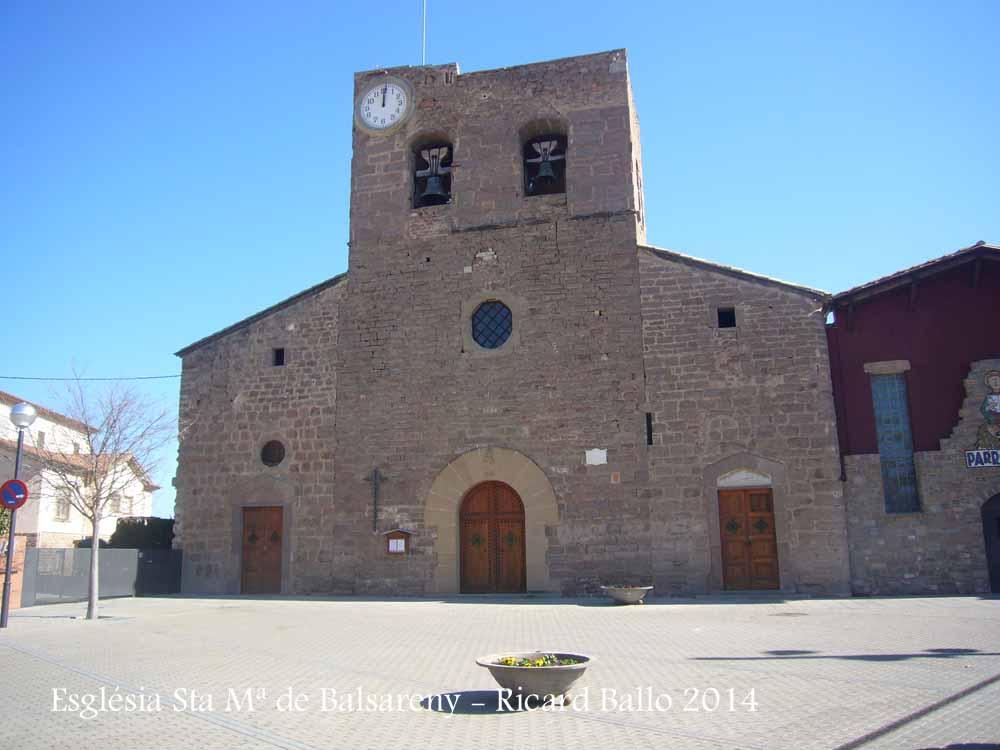 Església de Santa Maria de Balsareny