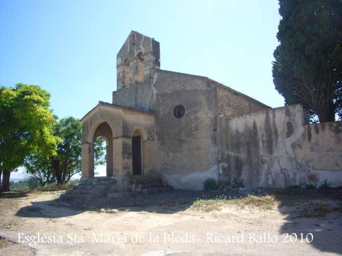 Església de Santa Maria de La Bleda – Santa Margarida i els Monjos