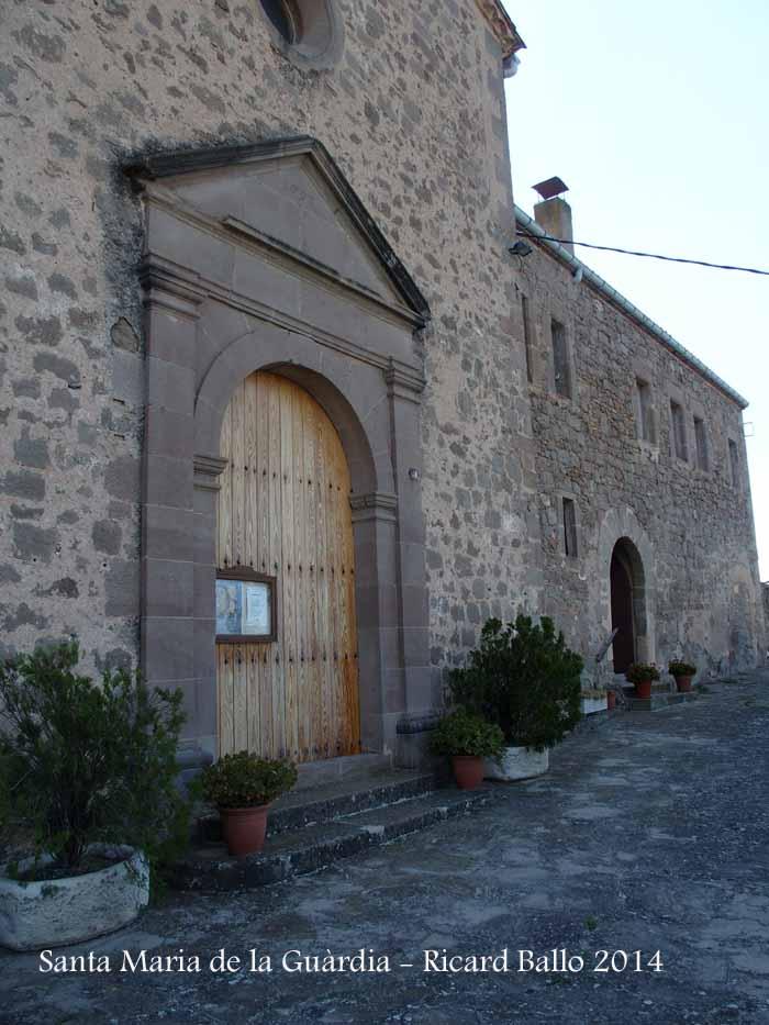Santuari de Santa Maria de La Guàrdia – Sagàs