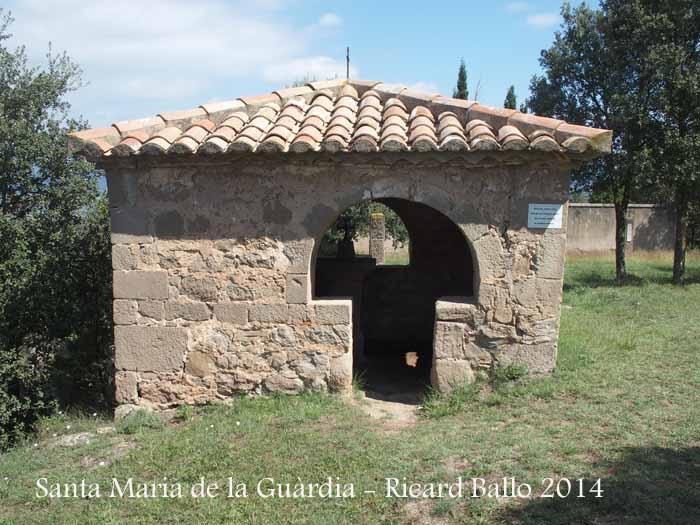 Santuari de Santa Maria de La Guàrdia – Sagàs - Comunidor