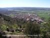 Vistes de Torà, des de l'església de Santa Maria de l'Aguda i des del castell de l'Aguda