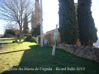 Església de Santa Maria de l'Aguda / Torà - Cementiri