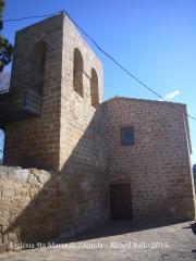 Església de Santa Maria de l'Aguda / Torà - Entrada i campanar