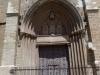 Església de Santa Maria de l'Alba – Manresa - Portal de migdia o de Sant Antoni.