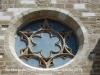 Església de Santa Maria de l'Alba – Manresa - Portal de migdia o de Sant Antoni - Detall: Rosetó.