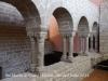 Església de Santa Maria de l'Alba - Restes del primitiu claustre romànic.