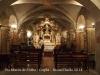 Església de Santa Maria de l'Alba - Cripta. No és accessible a les visites per lliure. Havent-ho sol·licitat a l'entrada, ens han acompanyat en una visita guiada.
