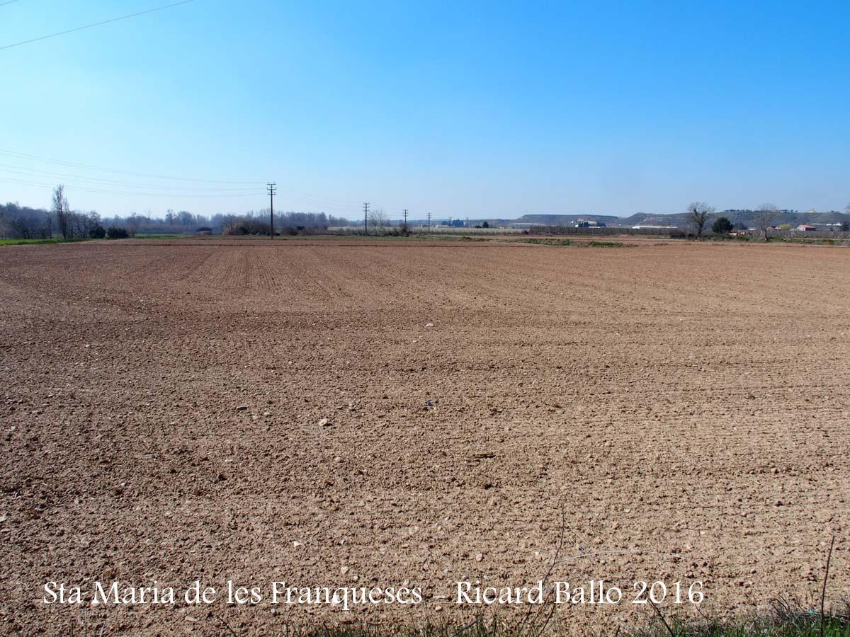 Església de Santa Maria de les Franqueses – Balaguer - Entorn