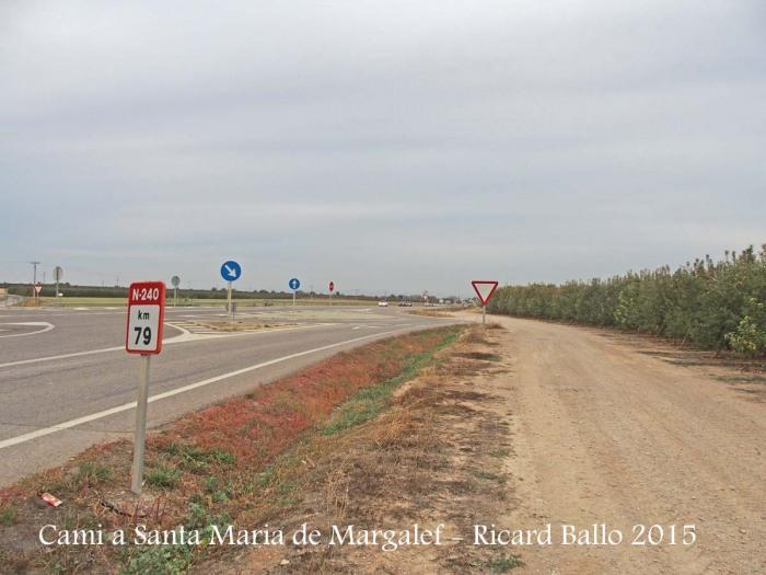 Camí a l'Església de Santa Maria de Margalef – Torregrossa