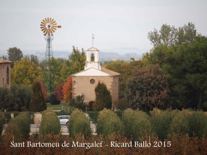 Església de Sant Bartomeu de Margalef