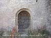 Església de Santa Maria de Montlleó – Ribera d'Ondara - Porta per la que hem accedit a l\'interior.