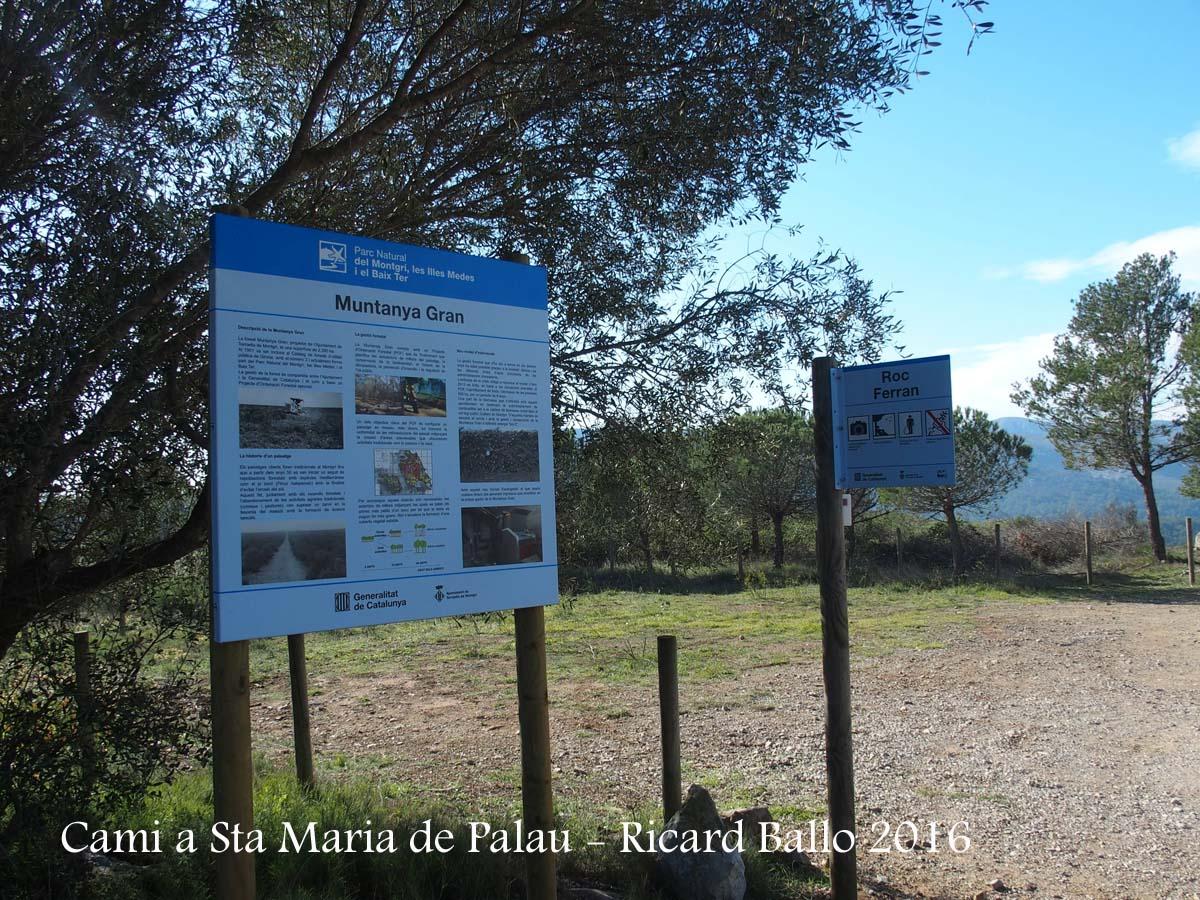 Camí a l'Església de Santa Maria de Palau – Torroella de Montgrí