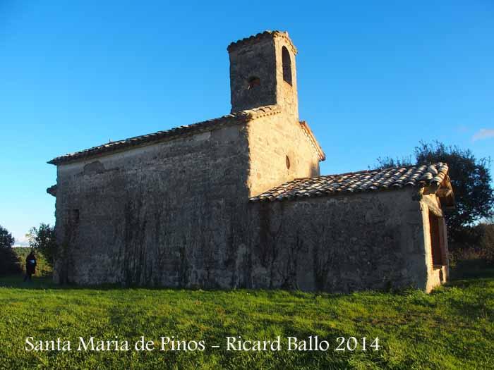 Església de Santa Maria de Pinós – Santa Maria de Merlès