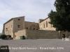 Vistes des de l\'Església de Santa Maria - Sant Martí Sarroca - Castell de Sant Martí..