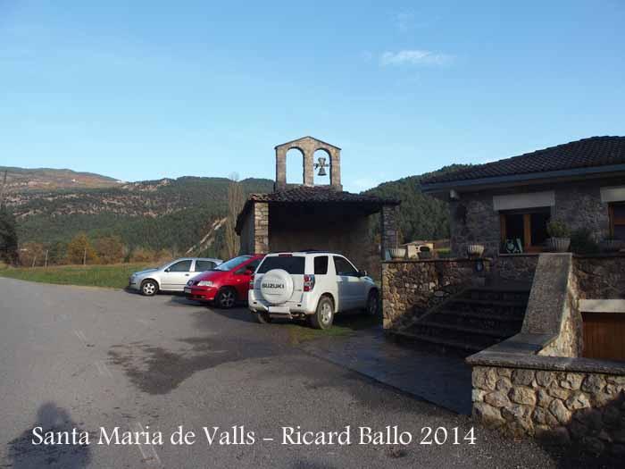 Església de Santa Maria de Valls – Guixers