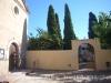 Església de Santa Maria del Bruc - Porta d\'entrada al cementiri.