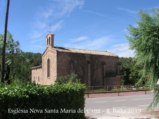 Església Nova de Santa Maria del Camí