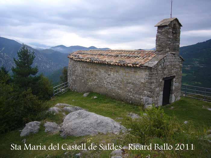 Església de Santa Maria del Castell de Saldes